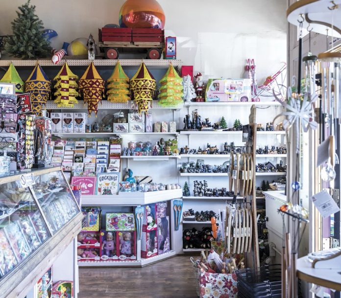 The charming business district of Truckee is only a couple of blocks long, but it's filled with great boutiques, galleries and shops where you can pick up a mountain souvenir or furnish your entire house.