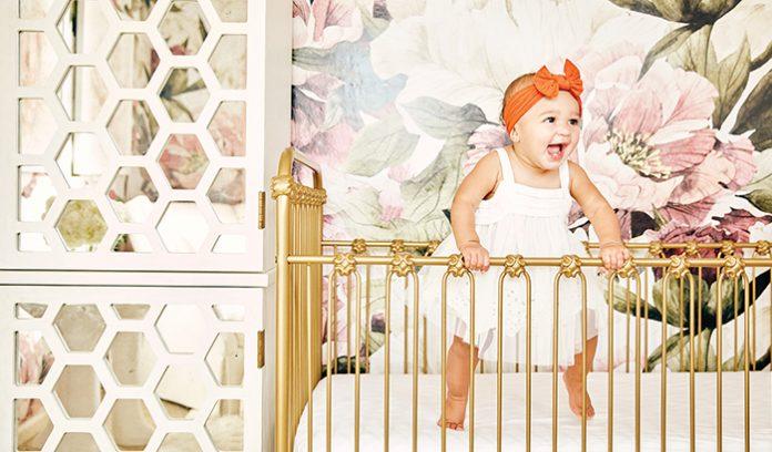 chic baby nursery
